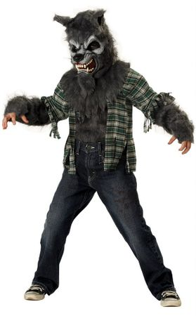 Child's Howling at the Moon Werewolf Costume