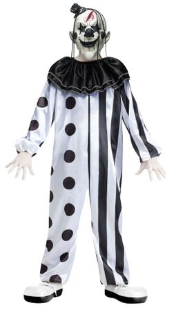 Child/Teen Killer Clown Costume