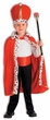 Child's King Robe and Crown Costume