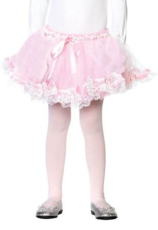Child's Light Pink Organza and Tulle Petticoat