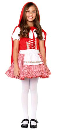 Child's Lil' Miss Red Costume