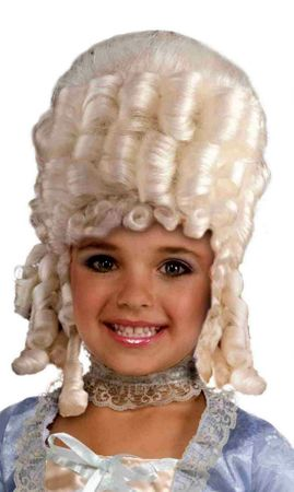 Child's Marie Antoinette Colonial Wig