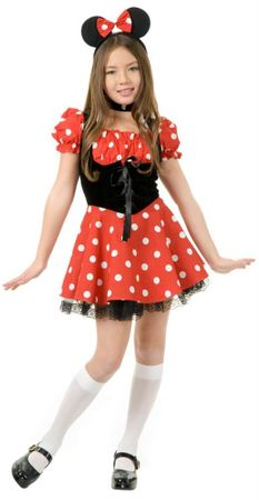 Child's Miss Mouse Costume