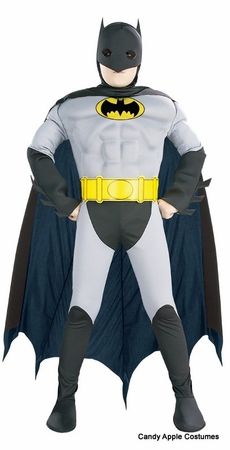 Child's Muscle Chest Batman Costume