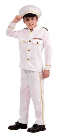 Child's Navy Admiral Sailor Costume