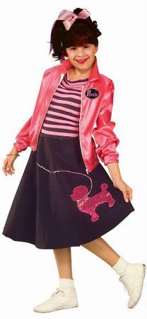 Child's Nifty Fifties Sock Hop Costume
