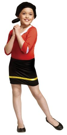 Child's Olive Oyl Costume