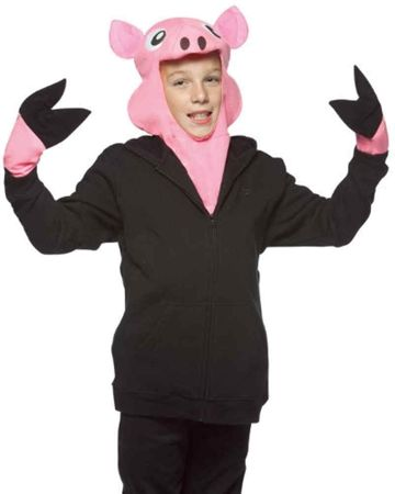Child's Pig Costume Kit