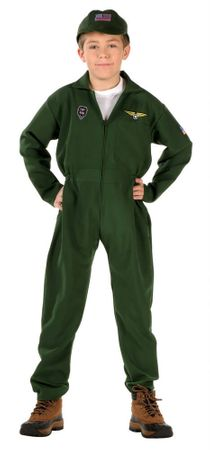Child's Pilot Jumpsuit Costume