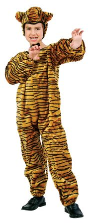 Child's Plush Tiger Costume