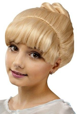 Child's Pretty Princess Blonde Cinderella Wig