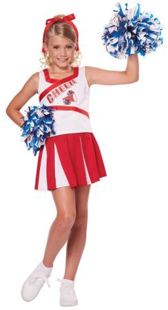 Child's High School Cheerleader Costume