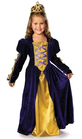 Child's Regal Queen Costume