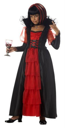 Child's Regal Vampira Costume