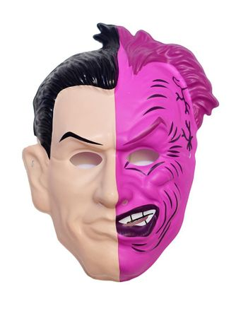 Child's Retro Two-Face Mask