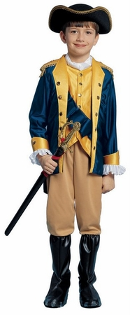 Child's Revolutionary Patriot Costume