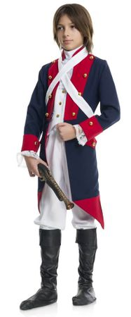 Child's Revolutionary Soldier Costume