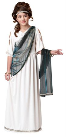 Child's Roman Princess Costume