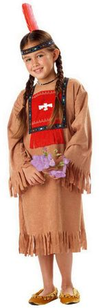 Child's Running Brook Indian Costume