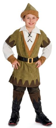 Child's Sherwood Robin Hood Costume, Size Small