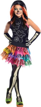 Child's Skelita Calaveras Monster High Costume
