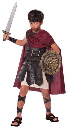 Child's Spartan Warrior Costume