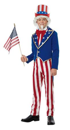 Child's Star-Spangled Uncle Sam Costume