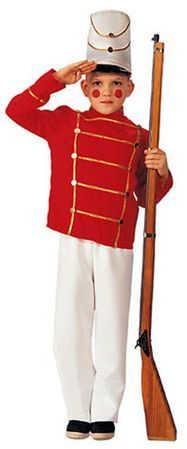 Child's Toy Soldier Costume, Size Small