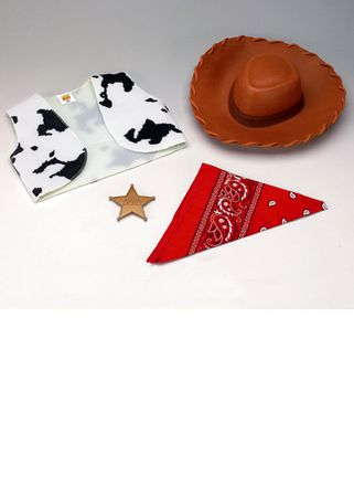 Child's Toy Story Woody Accessory Kit