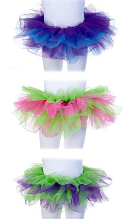 Child's Two-Tone Tutu Petticoat