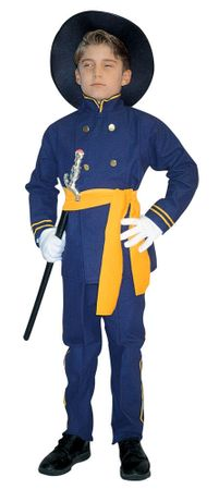 Child's Union Officer Civil War Costume