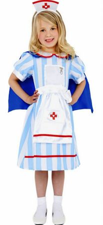 Child's Vintage Nurse Costume