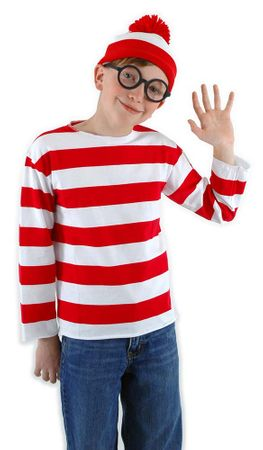 Child's Where's Waldo Costume