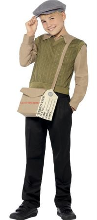 Child's Historical WWII Boy Costume Kit