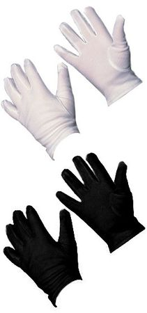 Child Size Gloves - White or Red