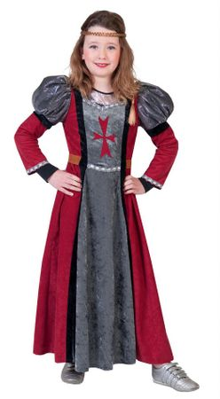 Child Size Lady Rouge Medieval Costume