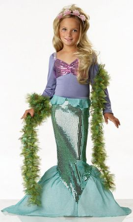 Child Size Lil' Mermaid Costume