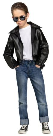 Child Size T-Birds Gang Greaser Costume, Size Large