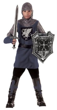 Child Size Valiant Knight Costume