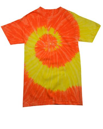 Child Size Venus Burst Tie Dye Tee Shirt