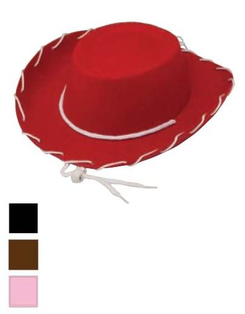 Child Size Whipstitch Cowboy Hat - More Colors