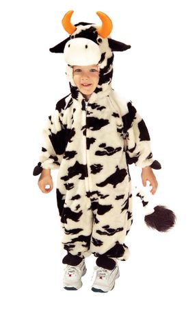 Child/Toddler Lil' Moo Cow Costume, Size Small