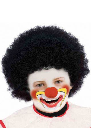 Child's Black Afro Wig