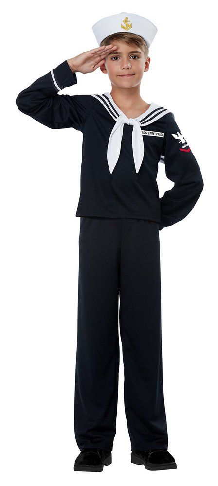 child s black sailor costume candy apple costumes 40 s costumes
