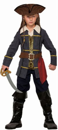Child's Captain Cutlass Pirate Costume