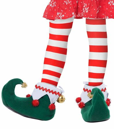 Child's Christmas Elf Shoes