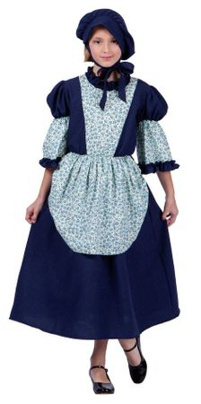 Child's Colonial Peasant Sarah Costume
