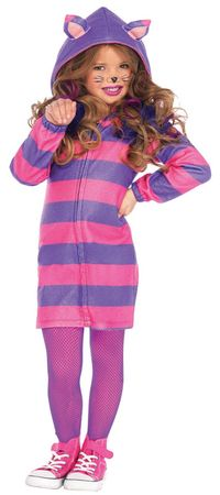 Child's Cozy Cheshire Cat Costume