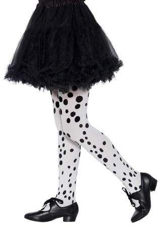 Child's Dalmatian Spotted Tights
