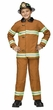 Child's Deluxe Firefighter Costume